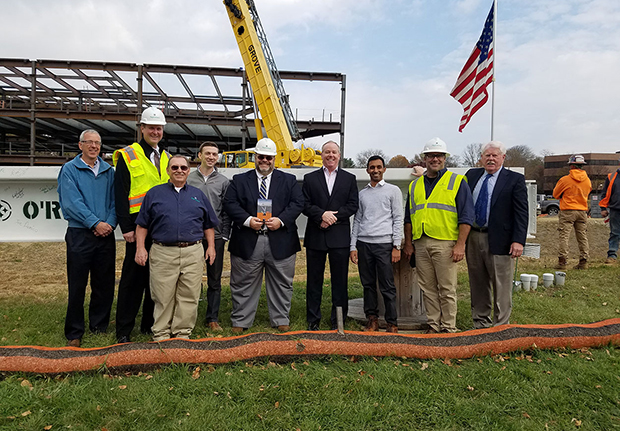 Topping Off Franklin Mint FCU Headquarters